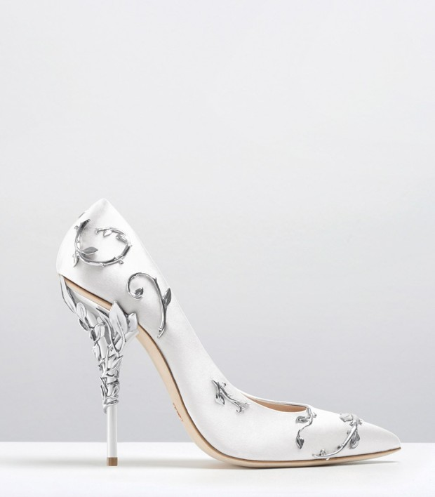 style-14-eden-pumps-white-satin-with-silver-leaves-a